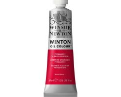 Winsor & Newton Winton Oil Colour Permanent Alizarin Crimson (Cremisi d\'Alizarina) 37 ml