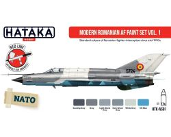 Hataka Hobby Modern Romanian AF paint set vol.1