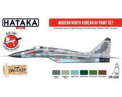 Hataka Hobby Modern North Korean AF Paint Set