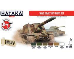 Hataka Hobby WW2 Soviet AFV Paint Set