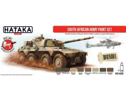 Hataka Hobby South African Army paint set