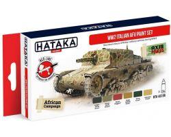 Hataka Hobby WW2 Italian AFV Paint Set