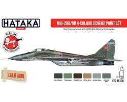 Hataka Hobby MIG-29A/UB 4-colour scheme paint set