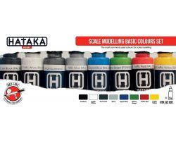 Hataka Hobby Scale Modelling basic colours set