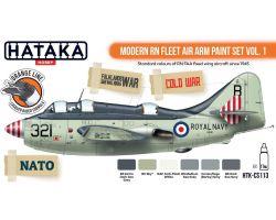 Hataka Hobby Modern RN Fleet Air Arm Paint Set Vol.1