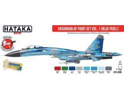 Hataka Hobby Ukrainian AF paint set vol,1 (blue pixel)