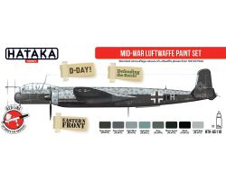 Hataka Hobby MID-War Lutwaffe paint set