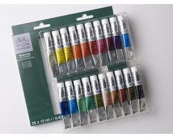 Winsor & Newton Winton Oil Colour Set Principianti 20 tubi x 12 ml