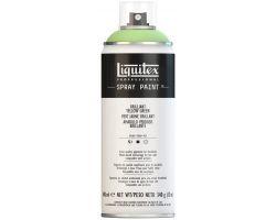 Liquitex Spray Paint Brilliant Yellow Green (Verde Giallo Brillante) 400 ml