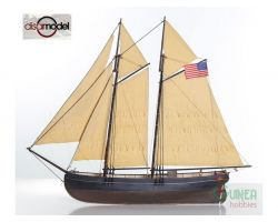 DISARMODEL NEW YORK PILOT BOAT - Modellino da Costruire - Scala 1:50