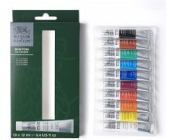Winsor & Newton Winton Oil Colour Set Principianti 10 tubi x 12 ml