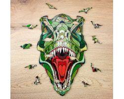 T-Rex - Puzzle 3D in Legno - 129 pz