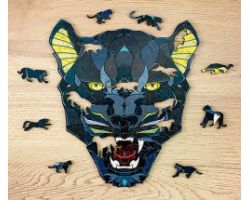 Panther - Puzzle 3D in Legno - 102 pz