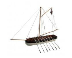 DISARMODEL HMS AGAMEMNON LORD NELSON BOAT - Modellino da Costruire - Scala 1:30