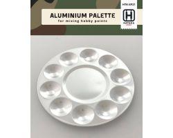 Tavolozza in alluminio con 10 pozzi