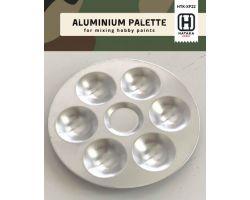 Tavolozza in alluminio con 6 pozzi