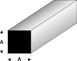 Profilo Quadrato Square 1,5mm / 0.06  x 100 cm